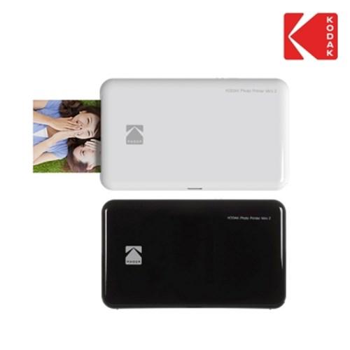휴대용 포토 프린터 코닥 미니2 화이트 +전용 스티커 카트리지 20매