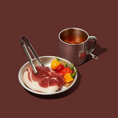 라면한잔 할래 라면티백1set(매운맛8+순한맛8)