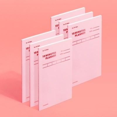 [모트모트] 텐미닛 플래너 31DAYS 컬러칩 - 로즈쿼츠 1EA