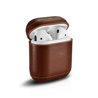 애플 에어팟 빈티지 가죽 케이스
