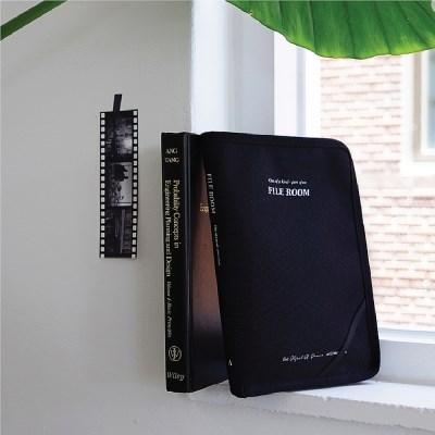 [텐바이텐 단독] File Room Black 파일룸 파우치_블랙