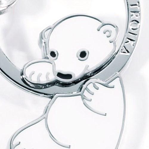 [트로이카] POLAR BEAR 키홀더 (KR8-03/WH)