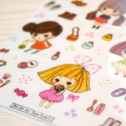 매일매일 소년소녀 스티커 ver.1