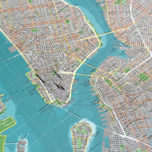 New York City Map (뉴욕시티맵 Ver.2)