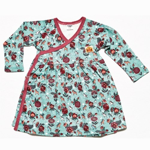 [MH] Kurbits Forest 오가닉 배냇 베이비 드레스