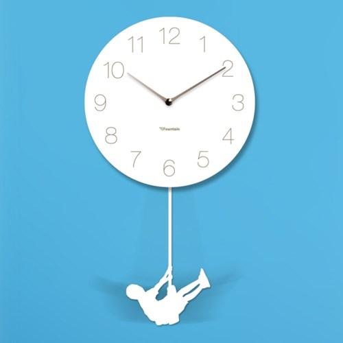 스윙추벽시계_숫자(흰색)