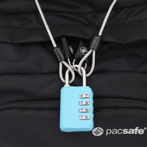멀티 안전케이블 + 4다이얼 안전자물쇠 세트 - 2.5M