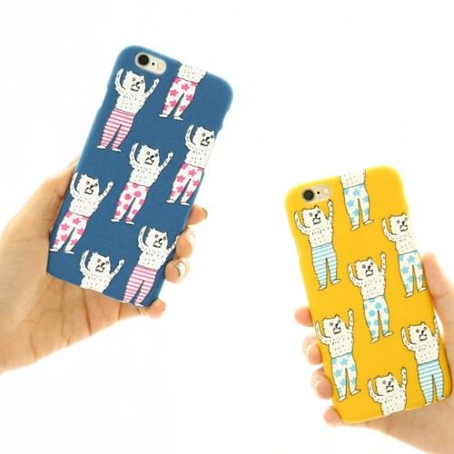 [아이폰6/6S] AIUEO iPhone Case Fabric - TORI BORDER BW