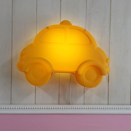 [LAMPDA] LED형 키즈카 벽등 (옐로우)