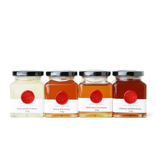 꿀.건.달[꿀이아주.건강하고.달콤하군] 아카시아,산벚,감로,밤꿀270g