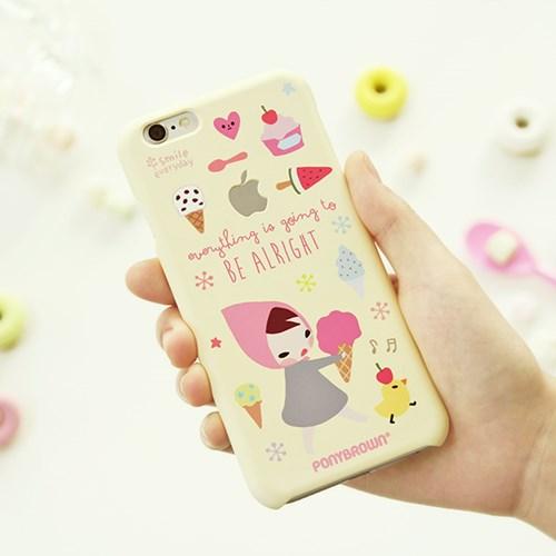이츠케이스x포니브라운 콜라보 아이폰6 6S 6+ 6S+ 케이스