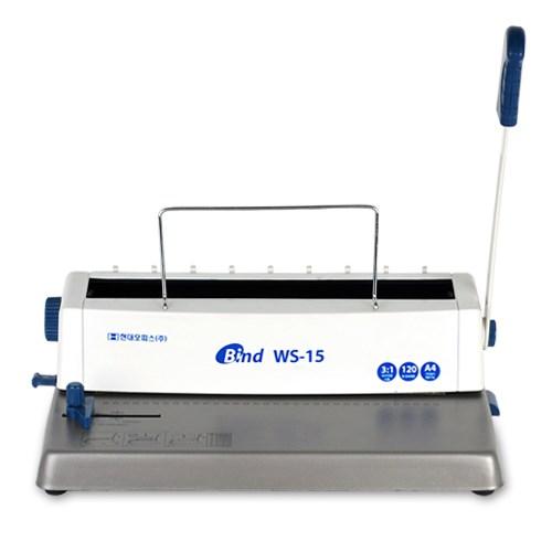3:1 와이어링 제본기 NEW WS-15 + 링100개 + 표지100매