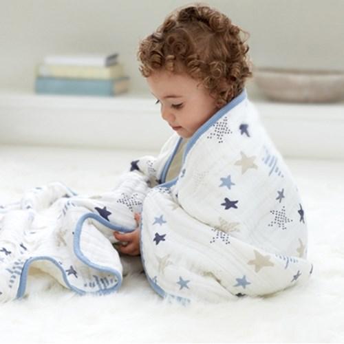머슬린 드림블랭킷 겉싸개 아기낮잠이불 - 록스타