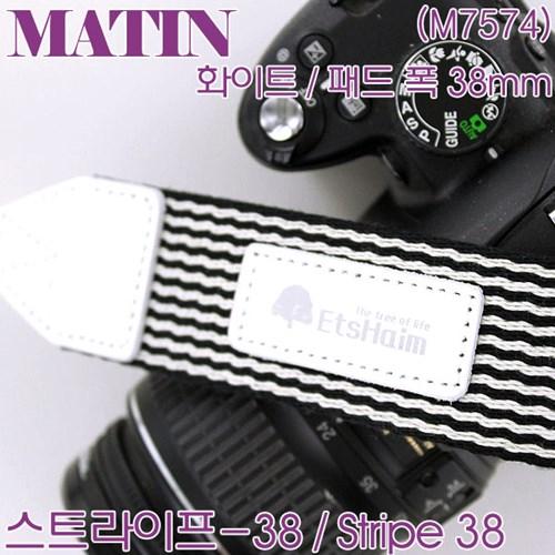 매틴 스트라이프-38 스트랩 / Matin M7574-M7577