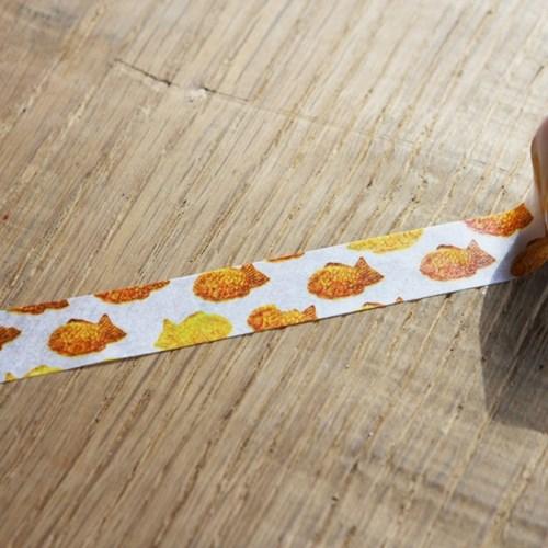 MASTE Masking tape Multi 붕어빵-MST-MKT155-F