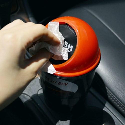 차량용 컵홀더거치 휴지통_(365619)