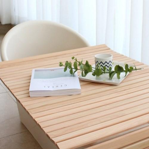 히노모리 히노끼 원목 롤 욕조덮개
