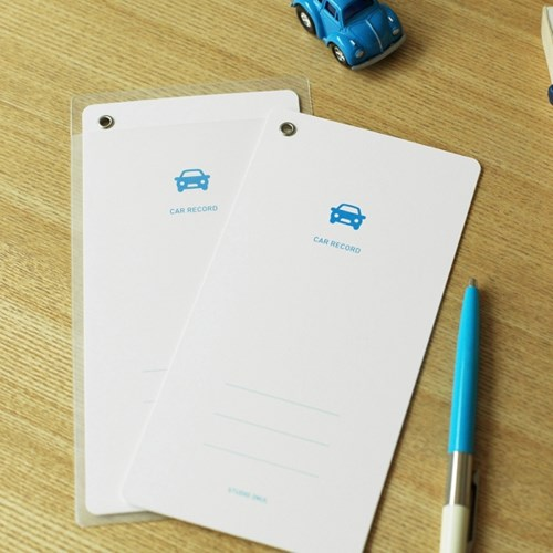 CAR RECORD - 자동차 정비기록카드