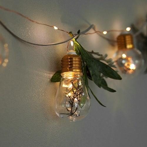 올리브가랜드 + LED 에디슨 전구 풀세트_(442403)