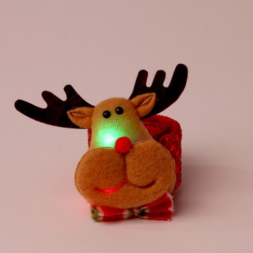LED점등 루돌프인형 팔찌