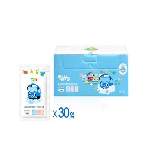 타요 크림형 유아 세탁세제 38ml(30개입)