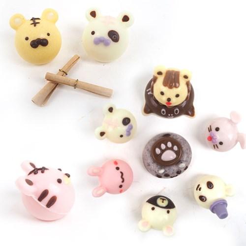 동물얼굴 초콜릿만들기세트