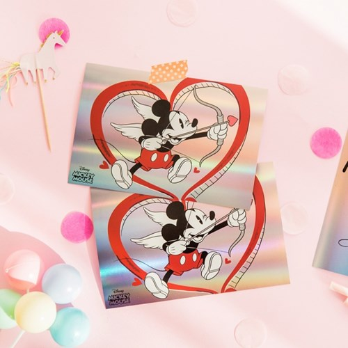 [Disney]Mickey&Minnie Post Card