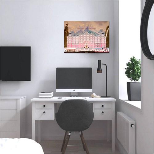 그랜드 부다페스트 호텔 - 감성사진 폼보드 액자