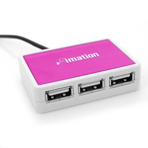 [imation] 이메이션 PCU-300 (핑크) USB 허브