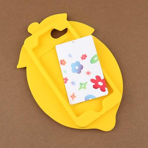 Candies 과일 아이폰7/6s/6 실리콘 케이스-레몬 [325-054153]