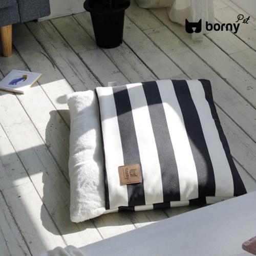 [BORNY PET] 보니펫 강아지 포켓방석 어반스트라이프