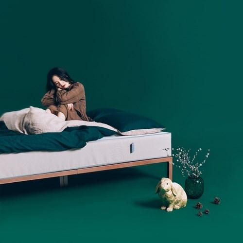 [라쏨] 딥그린&오트밀 천연 린넨 베딩 이불 (싱글/슈퍼싱글/퀸)