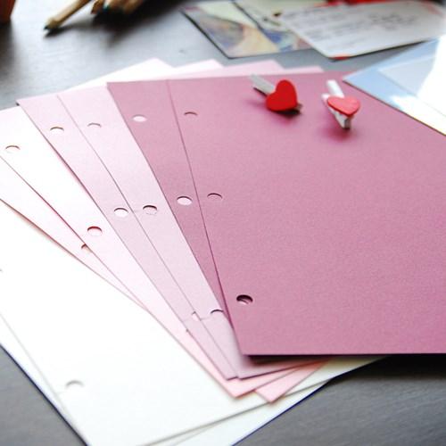 제이로그 스크랩내지셋트_핑크라떼