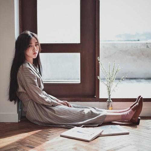 [린넨]아이린 심플 카라 원피스