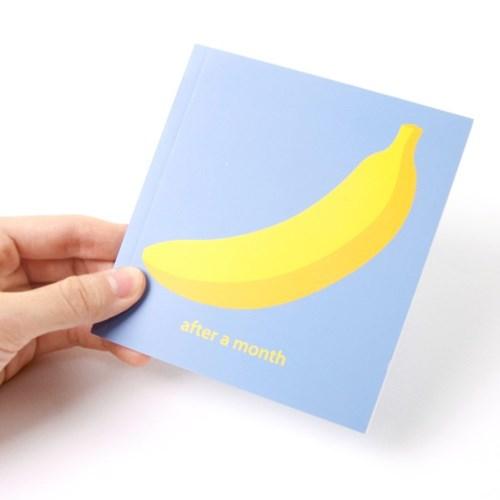 미니 다이어트 다이어리 - 바나나
