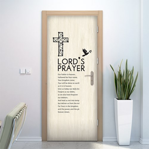 아트도어-주기도문십자가