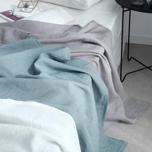아이스라미 바이오워싱 모시홑이불S (3color)