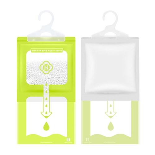 KC인증 여름 장마철 습기제거 옷걸이형 대용량 제습제_(642429)