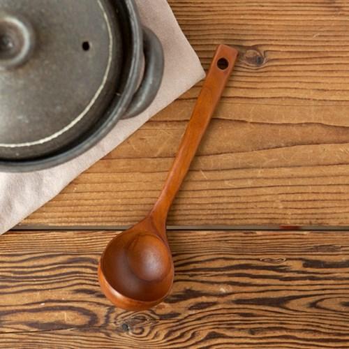 코코리코 대추나무로 만든 요리스푼, 뒤집개, 주걱 3종