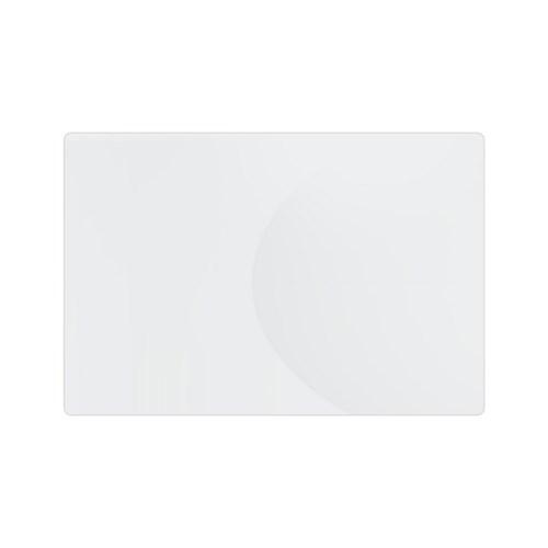 반투명 라운드 책상 매트