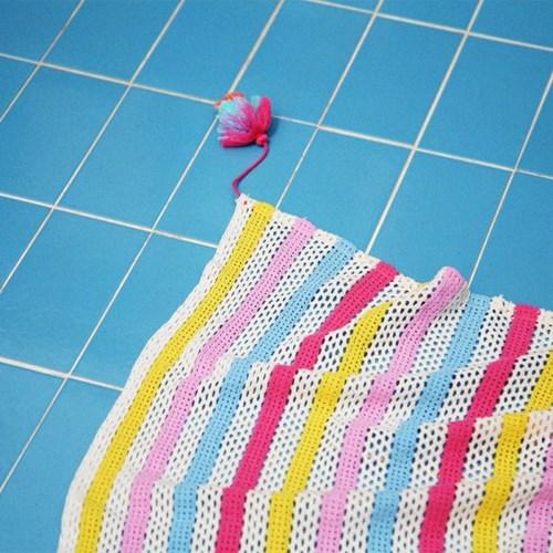 메쉬블랭킷 MESH BLANKET(pink)