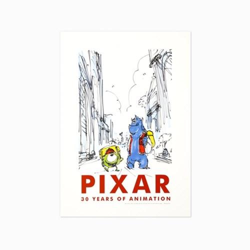 [PIXAR] 30주년 기념 포스터 (13 options)