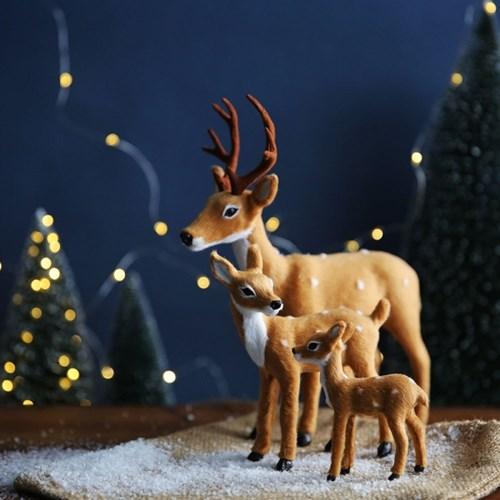 크리스마스 오브제 _ 사슴가족