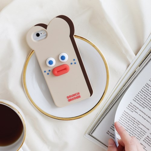 Brunch Brother 실리콘 케이스 for iPhone X/XS