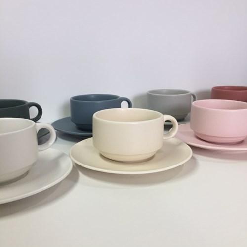 [딥시리즈] 12색상 커피잔세트