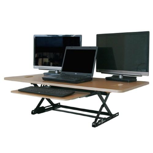 데스크탑데스크 높이조절 스탠딩 책상 DESK TOP DESK (DTD-L-EMB)