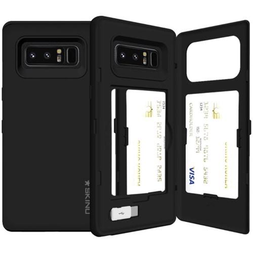 SKINU 유레카 카드수납 케이스 - 갤럭시 노트8 (C-type USB젠더포함)