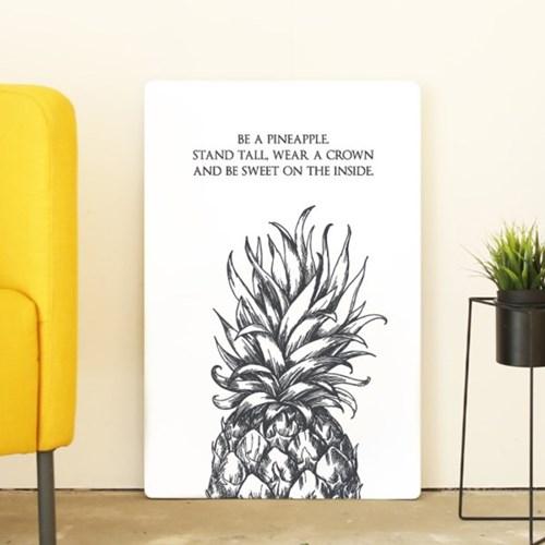 포스터 액자테이블(파인애플)