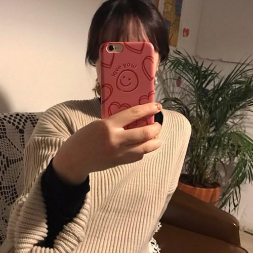 [뮤즈무드] love you (러브유) 아이폰케이스