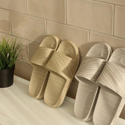 [아이홈] EVA 웨이브 디자인 실내화 욕실화